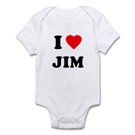 I Love Jim Infant Bodysuit