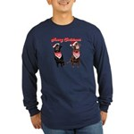 CanineCancerAwareness Long Sleeve Dark T-Shirt