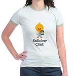 Radiology Chick Jr. Ringer T-Shirt