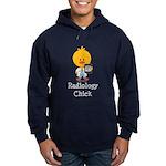 Radiology Chick Hoodie (dark)