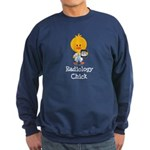 Radiology Chick Sweatshirt (dark)