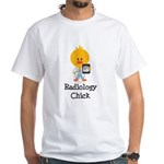 Radiology Chick White T-Shirt