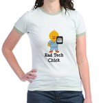 Rad Tech Chick Jr. Ringer T-Shirt
