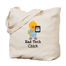 Rad Tech Chick Tote Bag
