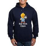 Rad Tech Chick Hoodie (dark)