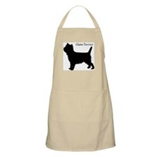 Cairn Terrier Silhouette Grooming Apron