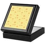 Dark Yellow Cheese Keepsake Box