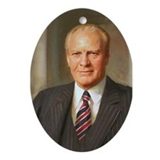 Gerald Ford Christmas Ornament