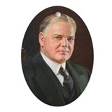 Herbert Hoover Christmas Ornament