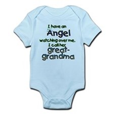 ANGEL CALLED GREAT-GRAMDMA Infant Bodysuit