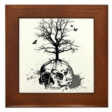 Dead tree Framed Tile