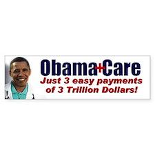 ObamaCare Bumper Bumper Sticker