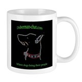 Doberman Chat Forums Coffee Mug