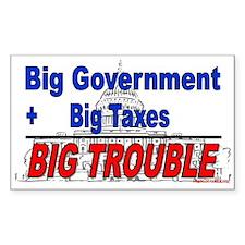 Big Trouble (sticker)