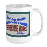 Arguing with a Woman... Mug
