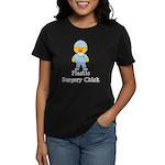 Plastic Surgery Chick Women's Dark T-Shirt