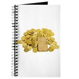 Cute Gold Journal