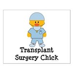 Transplant Surgery Chick Small Poster