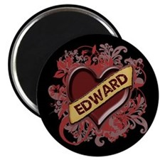 "Edward Flourish 2.25"" Magnet (10 pack)"