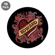 "Edward Flourish 3.5"" Button (10 pack)"