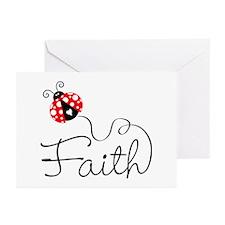 Ladybug Faith Greeting Cards (Pk of 20)