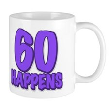 60th birthday, 60 happens! Mug