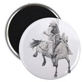 Saddle Bronc Magnet