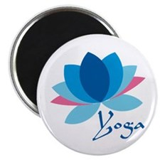 "Lotus Flower 2.25"" Magnet (10 pack)"