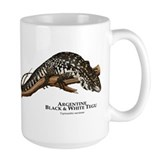 Argentine Black and White Tegu Mug