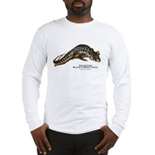 Argentine Black and White Tegu Long Sleeve T-Shirt