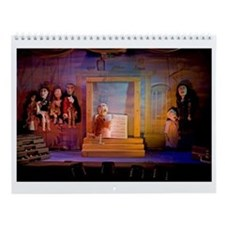 Cute Puppet Wall Calendar
