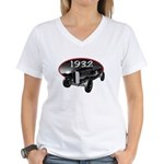 1932 Roadster Women's V-Neck T-Shirt