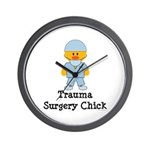 Trauma Surgery Chick Wall Clock
