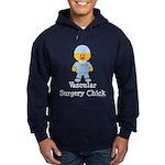 Vascular Surgery Chick Hoodie (dark)