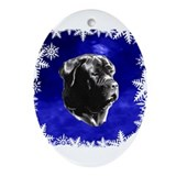 neapolitan mastiff Ornament (Oval)