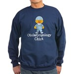 Otolaryngology Chick Sweatshirt (dark)