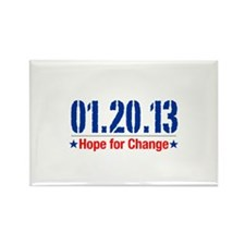 Hope For Change Rectangle Magnet