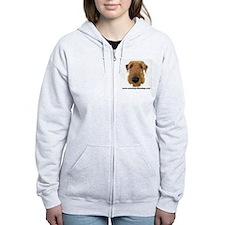 Zip Hoody - Airedale Terrier