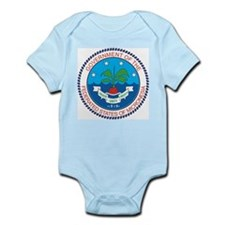 Micronesia Coat Of Arms Infant Creeper