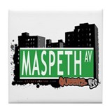 MASPETH AVENUE, QUEENS, NYC Tile Coaster