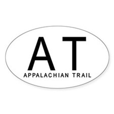 AT-Appalachian Trail Oval Decal