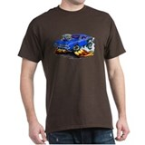 1971-72 Hemi Cuda Blue Car T-Shirt