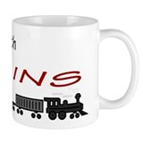 Still Plays with Trains Small Mug