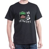 Mad Scientist Black T-Shirt