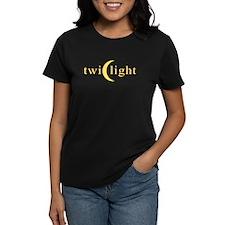Twilight Crescent Logo Women's Dark T-Shirt