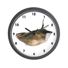 Stingray on Wall Clock
