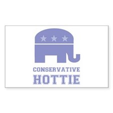 Conservative Hottie Rectangle Sticker 10 pk)