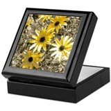Artistic Black-Eyed Susan Keepsake Box