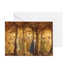 The Golden Wood Greeting Card