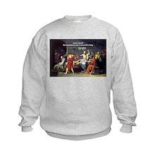 Know Thyself Socrates Quote Kids Sweatshirt